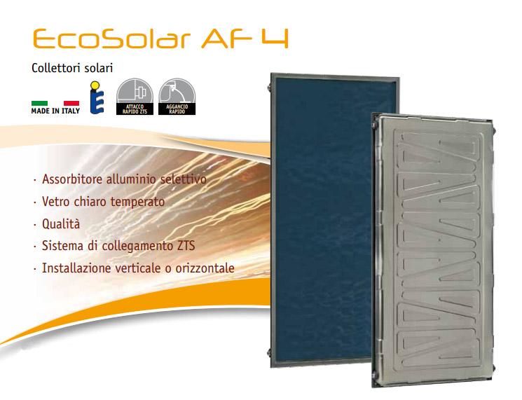Collettori solari Ecosolar di Bongioanni