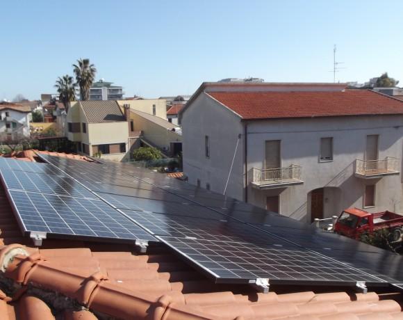 Fotovoltaico 5,94 kW a Montesilvano – Pescara