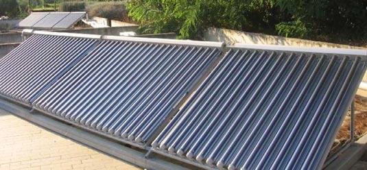Solare termico a Hotel Sporting, Francavilla