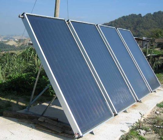 Solare termico a San Giorgio