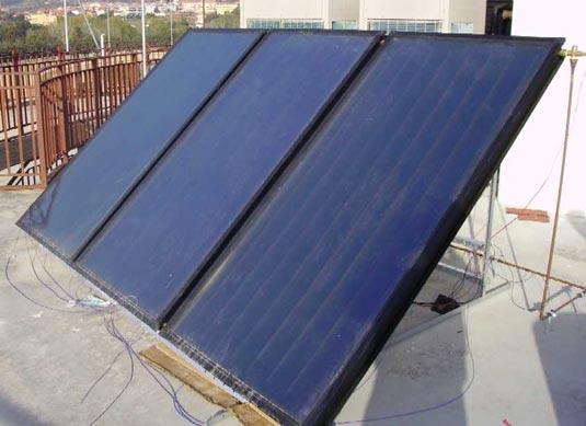 Solare termico presso l'Ippodromo