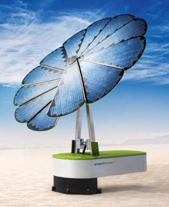 Lo Smartflower SF32 fotovoltaico