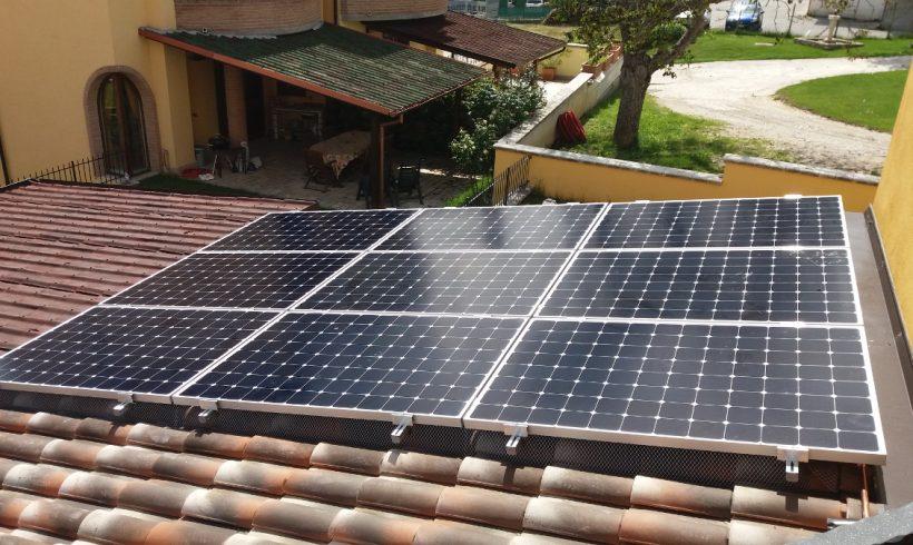 Fotovoltaico SunPower® a Scoppito (AQ)
