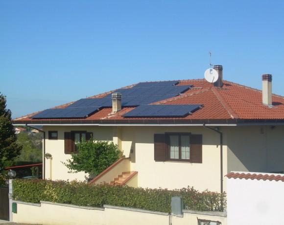 Fotovoltaico residenziale Torrevecchia – Chieti