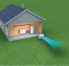 Pompa di calore tradizionale aria-acqua esterna