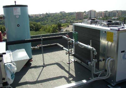 Pompa di calore presso l'Ospedale di Ortona (CH)