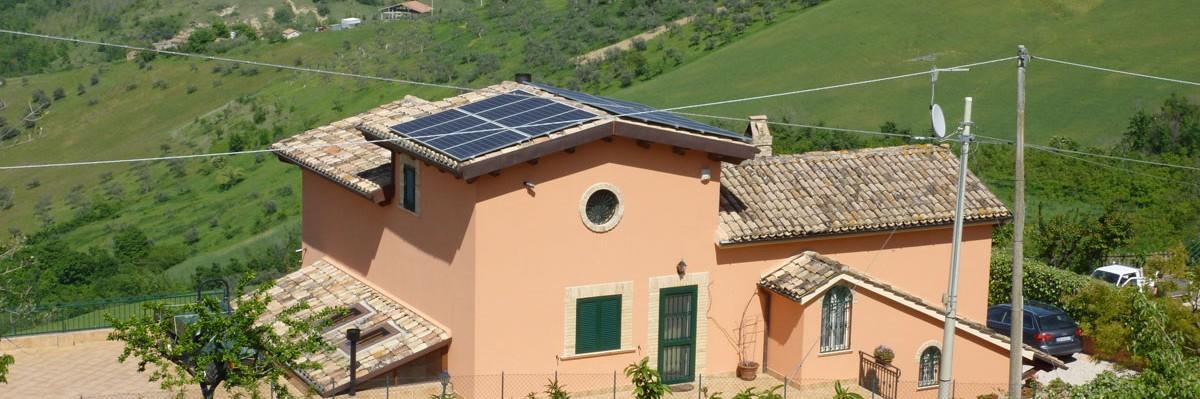 Impianto fotovoltaico residenziale a Penne, provincia di Pescara