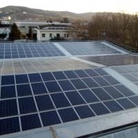 Il tetto fotovoltaico di Wood-Service Srl