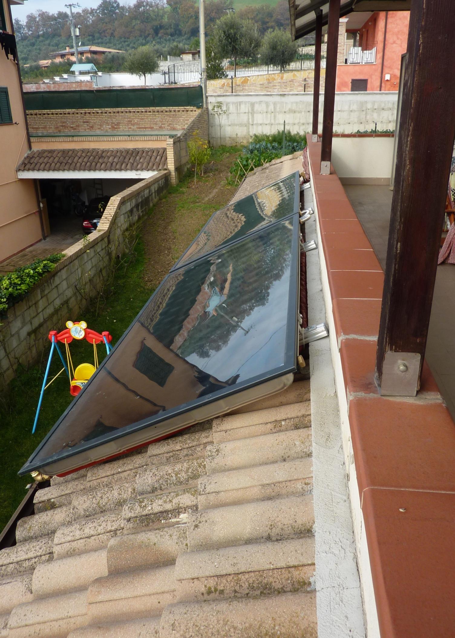 Il Conto Termico per risparmiare – Solare termico a Rosciano