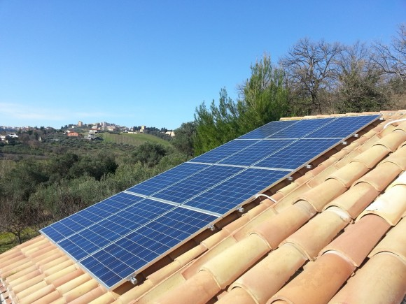 Residential photovoltaics in Chieti