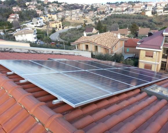 Fotovoltaico residenziale a Città St. Angelo – Pescara