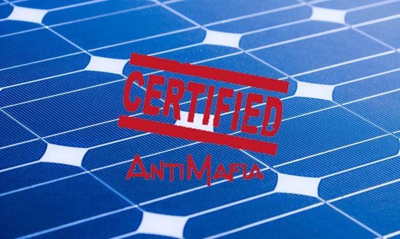 Antimafia – Il GSE comunica il rischio di cancellazione degli incentivi fotovoltaici