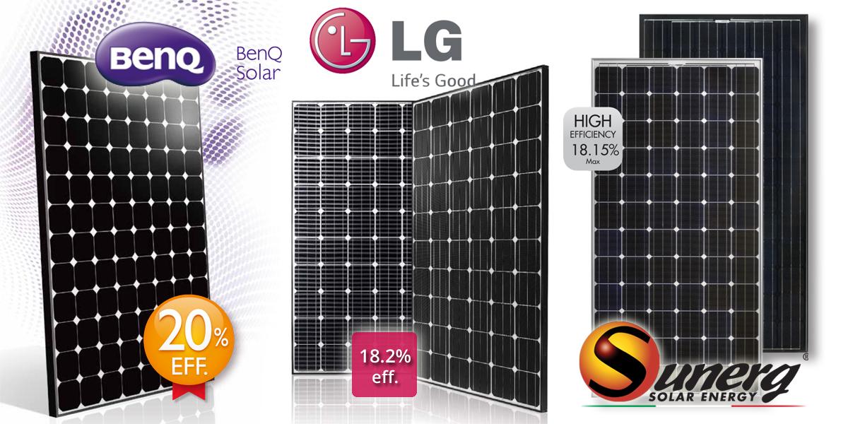 5 Moduli Fotovoltaici ad alta efficienza a confronto Solsolis - La tua