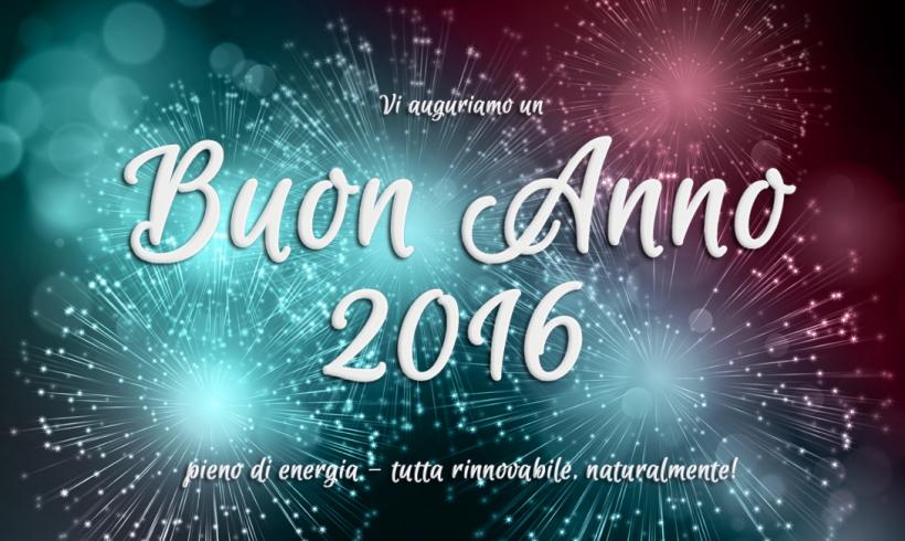 ICARO srl augura Buon Anno 2016