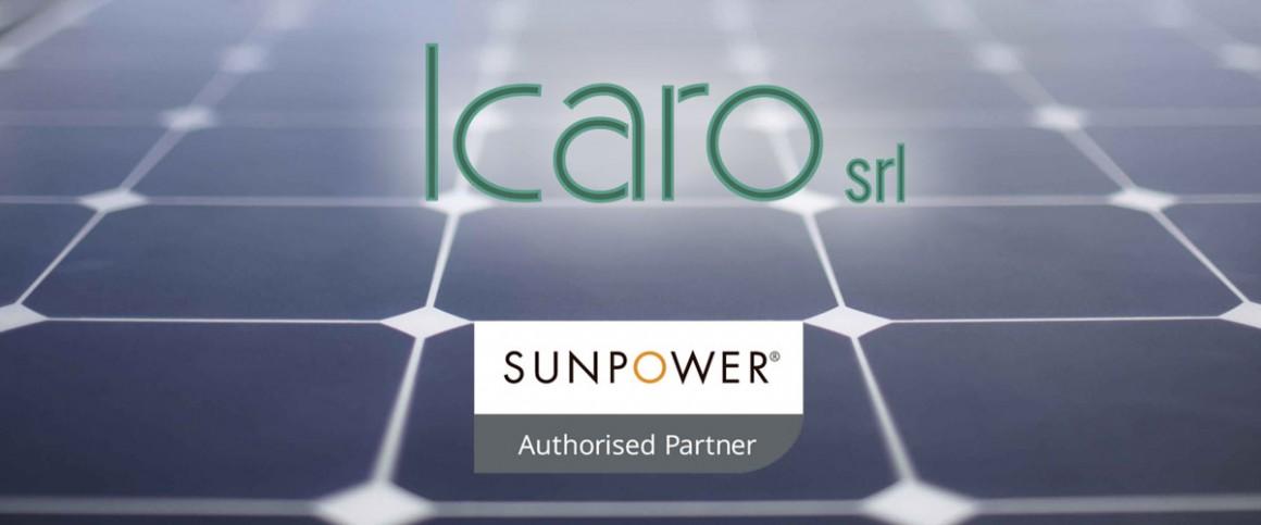 ICARO è ora installatore autorizzato SunPower®