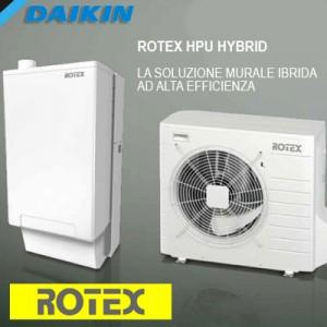 rotex hybrid caldaia ad alta efficienza