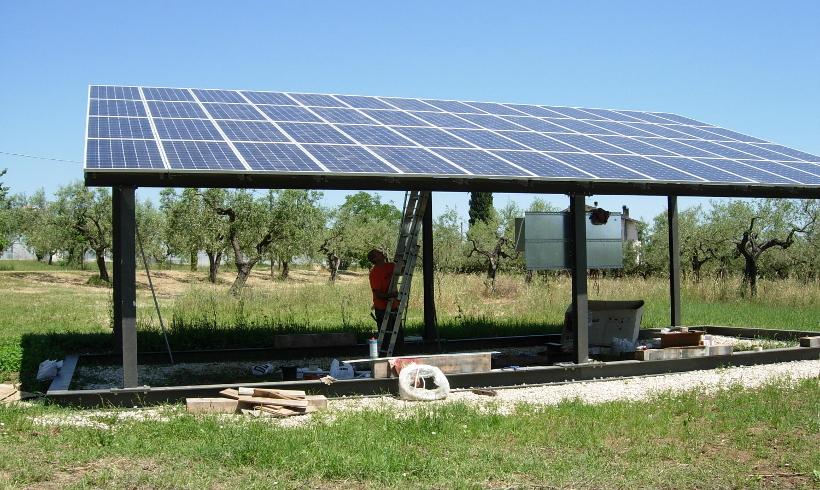 rimessa agricola fotovoltaico