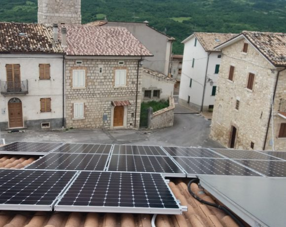 Fotovoltaico SunPower® a Colledimacine (CH)