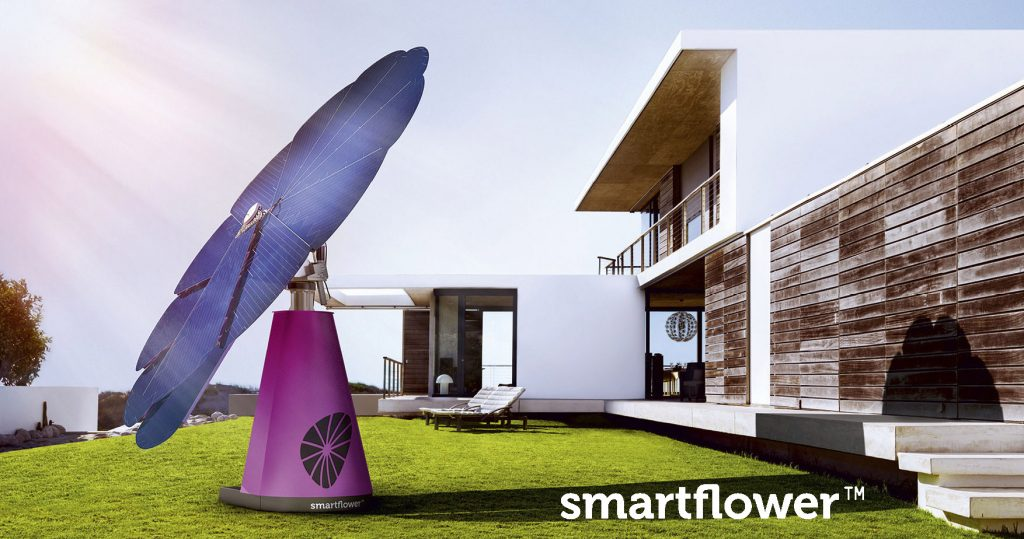 Il fotovoltaico di design, Smartflower™ POP.