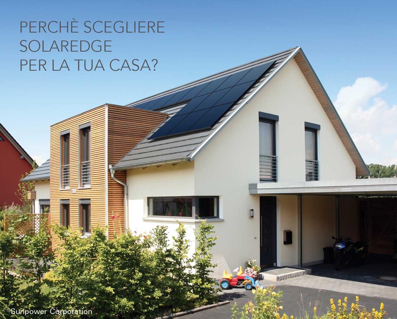 ottimizzatori fotovoltaico solaredge