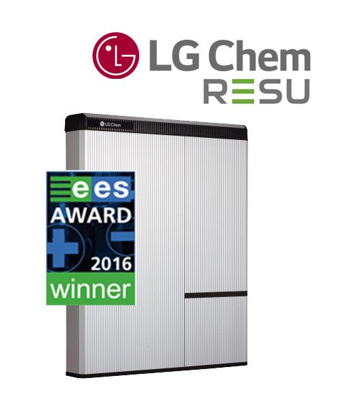 batteria accumulo LG chem