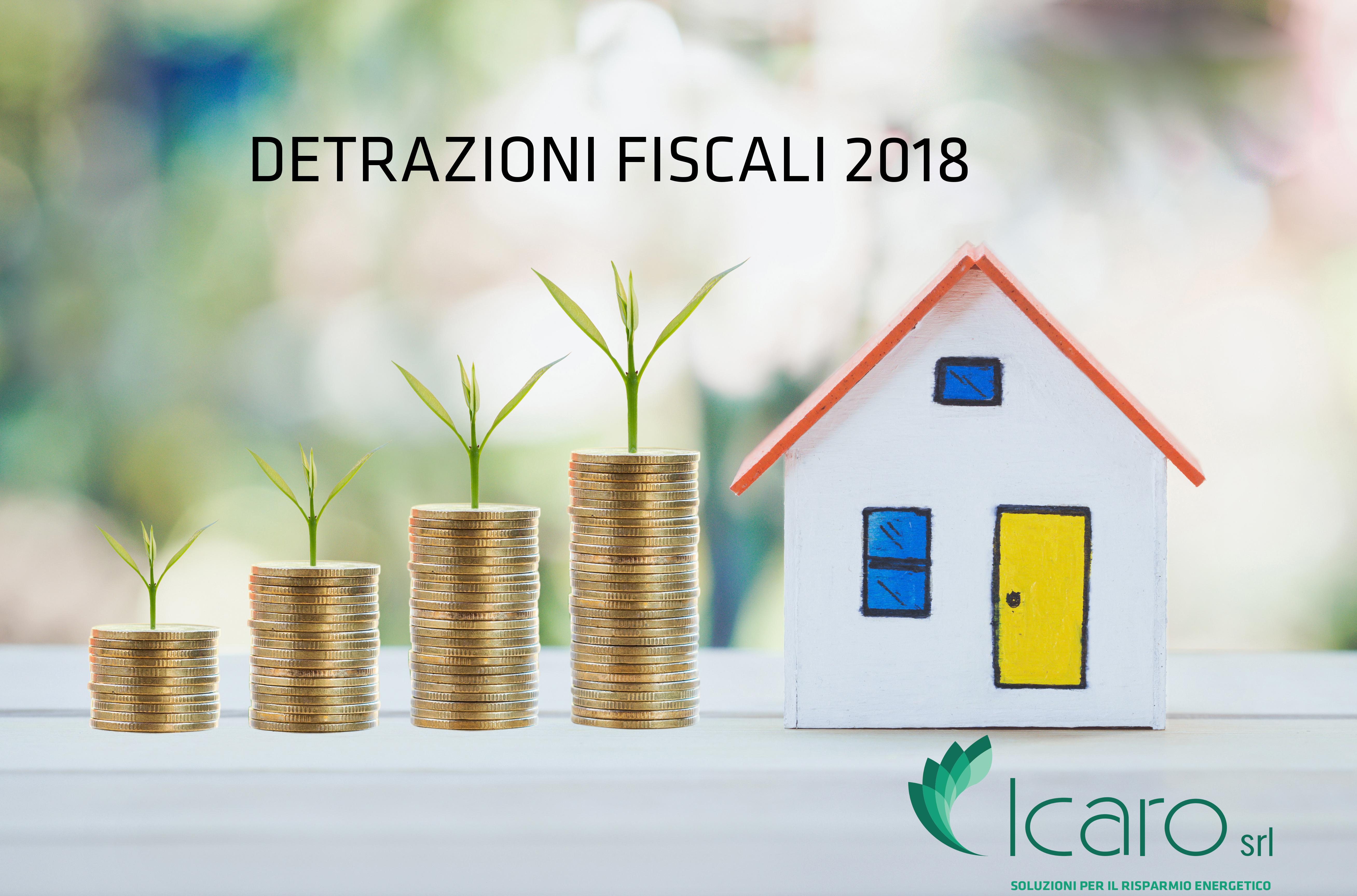 Risparmia 50-65 con la detrazione fiscale anche nel 2018 - ICARO srl