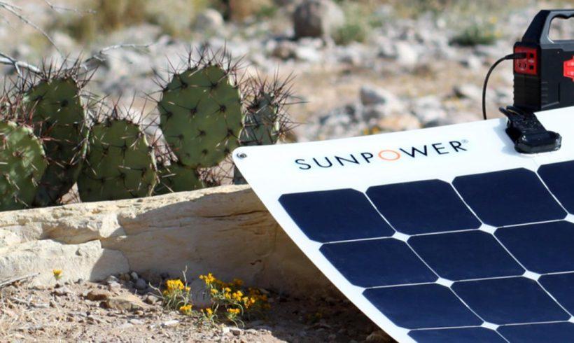 I nuovi pannelli fotovoltaici flessibili SunPower