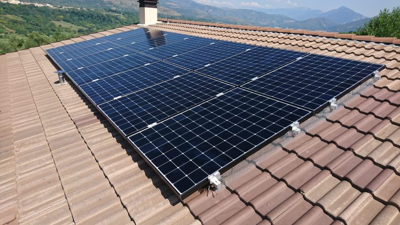 Residential Photovoltaics in Corfinio (AQ)