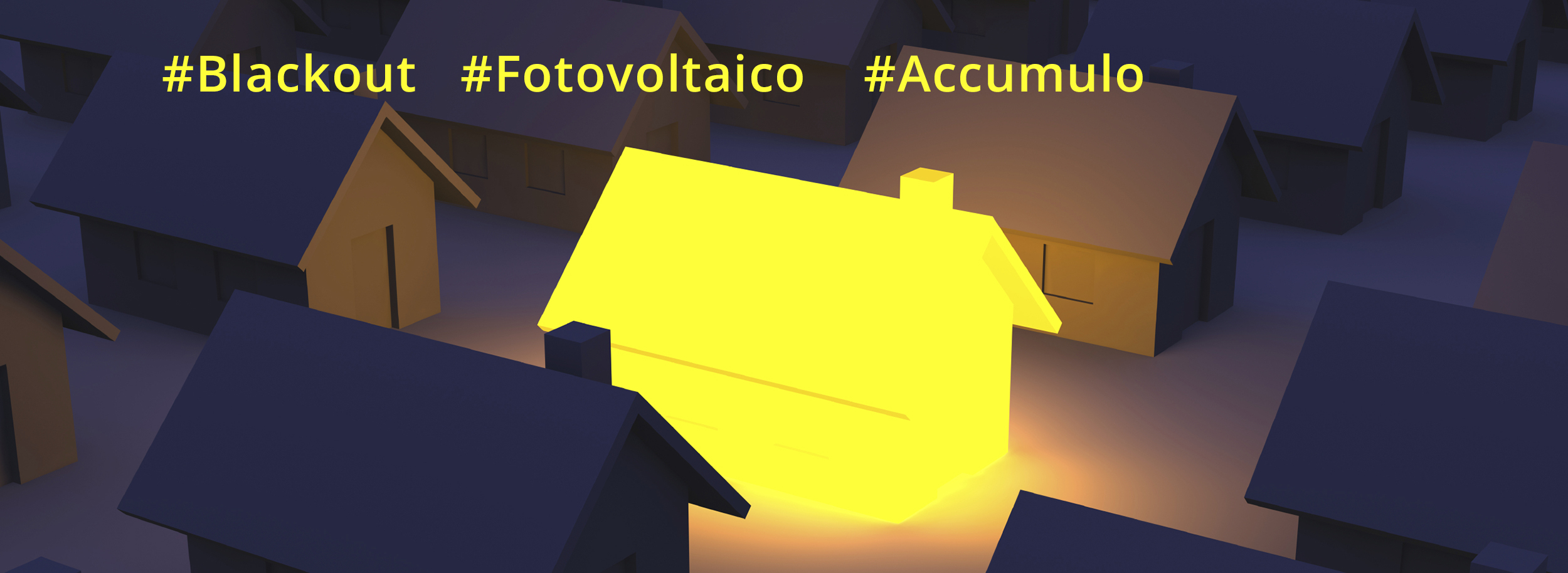 accumulo corrente blackout
