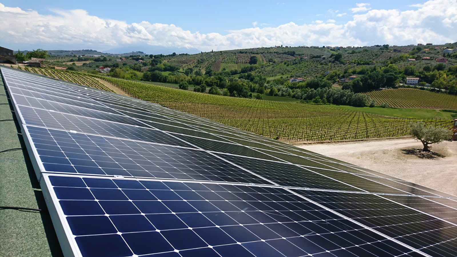 SunPower® rende il vino sostenibile a Collecorvino (PE)
