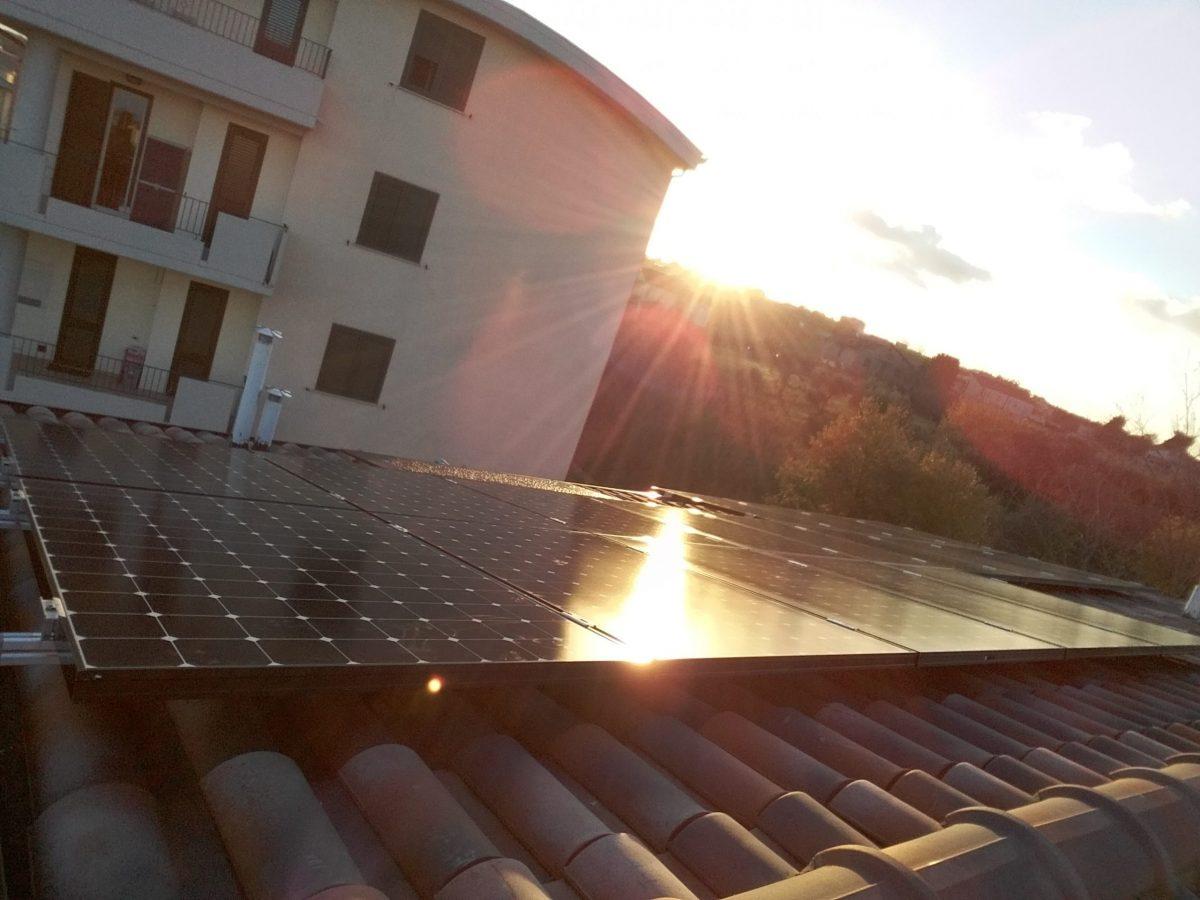 Impianto fotovoltaico Sunpower di 5,9 kWp a Vasto.