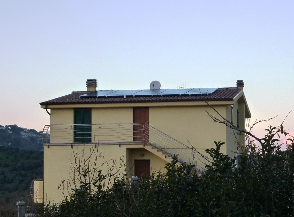 Impianto fotovoltaico a Vasto (6 kWp).