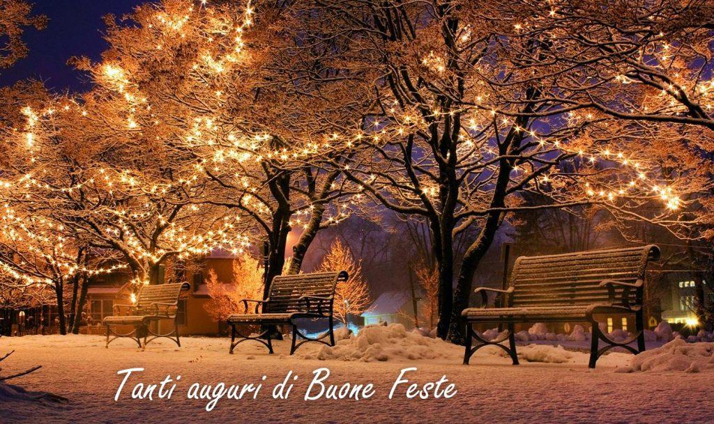 Chiusura natalizia 2019