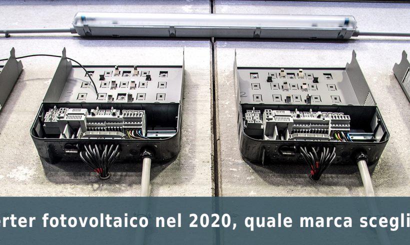 Sostituzione dell'inverter fotovoltaico, le novità per il 2020